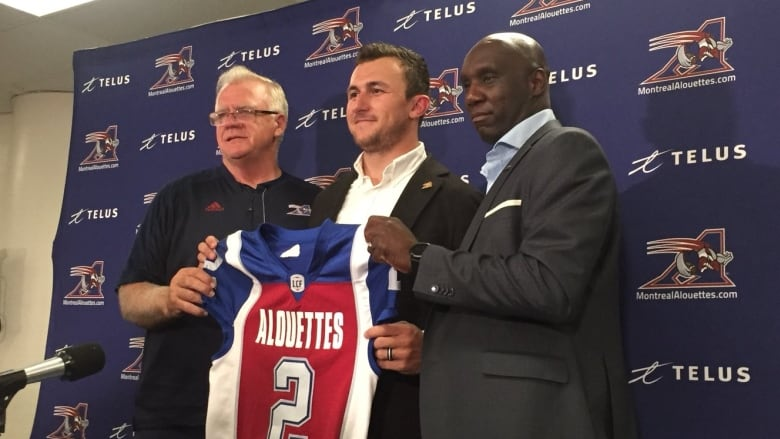 Johnny Manziel of Hamilton Tiger-Cats traded to Montreal Alouettes