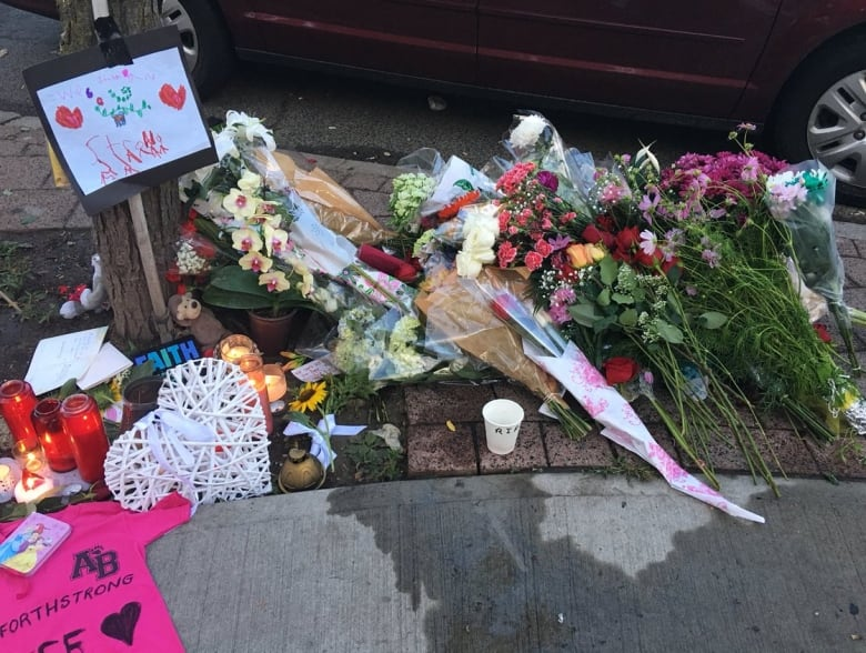 Messages Of Love Left For Victims Of Danforth Shooting As