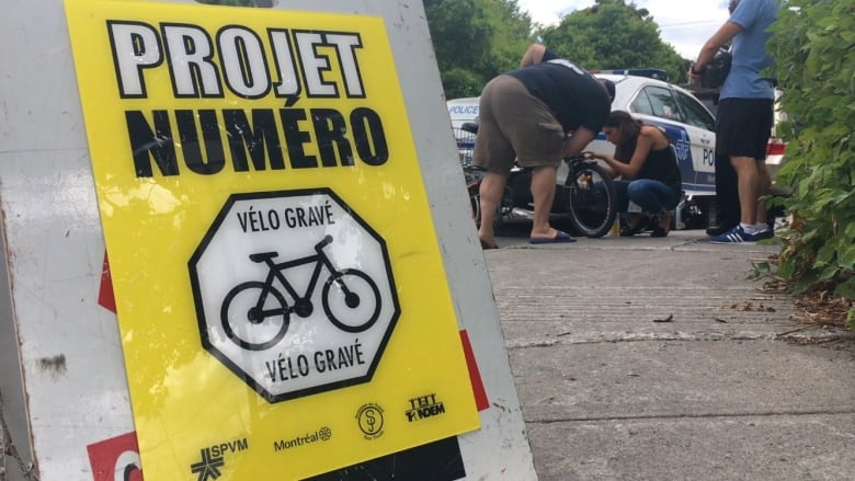 Montreal police try to curb bike theft numbers with ID