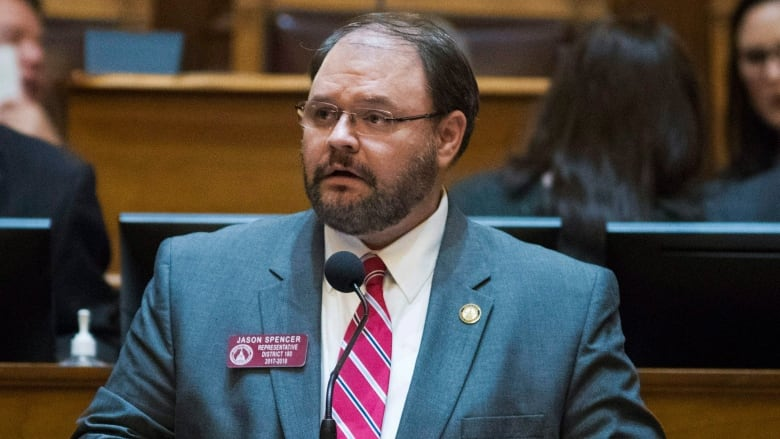 GOP lawmaker resigns after making racist comments on 'Who Is America?'
