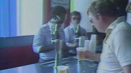 Beer being sold at a Jays game on July 30, 1982