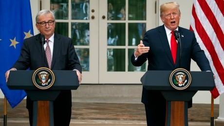 APTOPIX Trump Trade