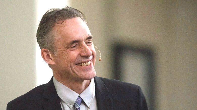 Jordan Peterson Speaks To A Crowd During A Stop In Sherwood Park Alta In February  Jason Franson The Canadian Press