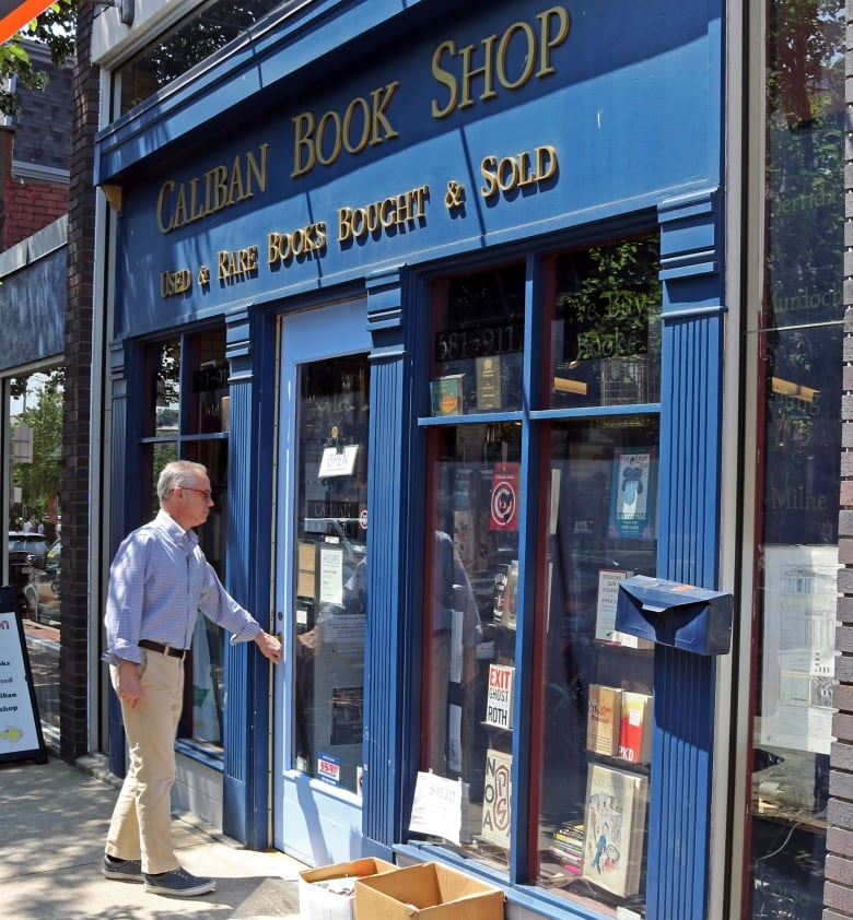caliban book shop theft