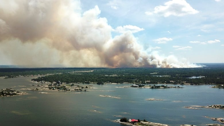Forest fire update: Parry Sound 33 grows again, 15 fires still out