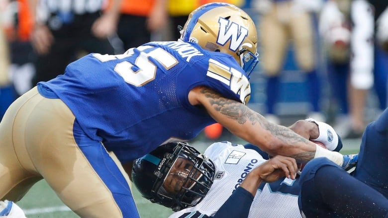 a74e72c2be4 Blue Bombers romp Argos for 2nd consecutive week