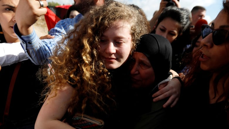 Palestinian teen activist Ahed Tamimi released by Israel