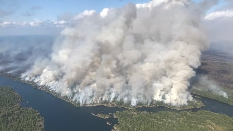 Parry Sound 33 Forest Fire Key River Pickerel River
