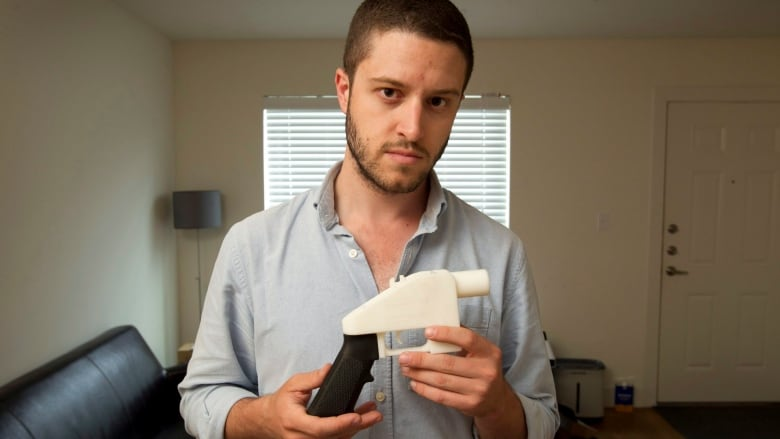 U S  anarchist selling 3D-printed gun plans: 'Canada can