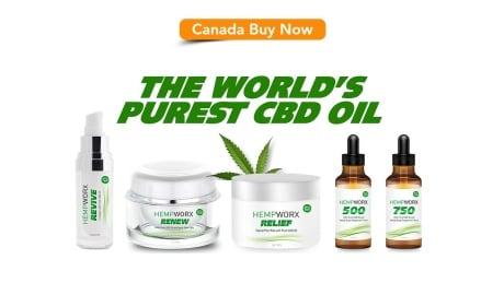 Hempworx web page Canada