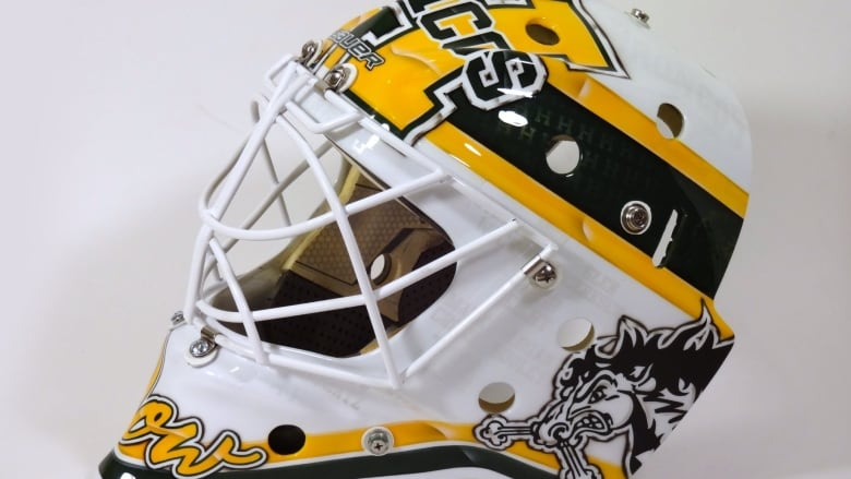 Clean, simple and 'perfect': Humboldt's new goalie wears
