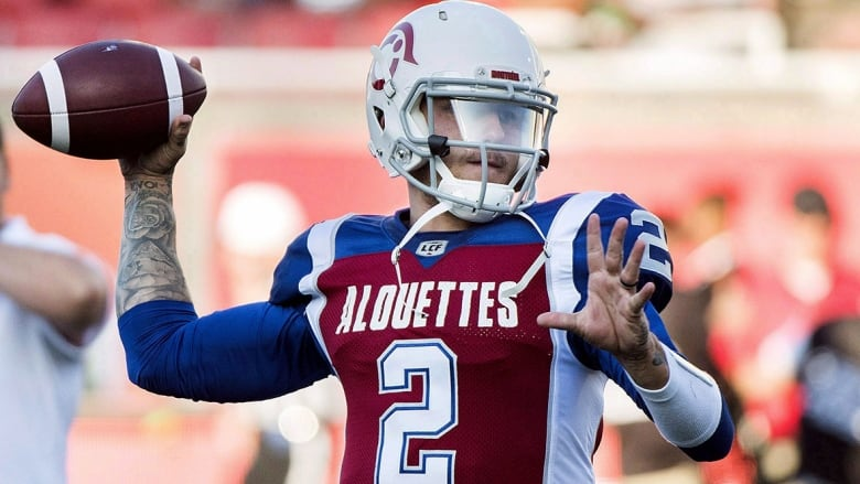876a43d7008 All eyes will be on Montreal Alouettes quarterback Johnny Manziel on Friday  night for his CFL regular-season debut. (Graham Hughes/Canadian Press )