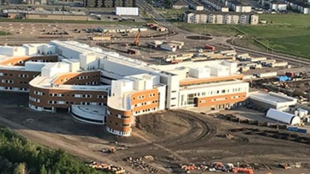 Grande Prairie Regional Hospital 85 per cent complete, province says   CBC News