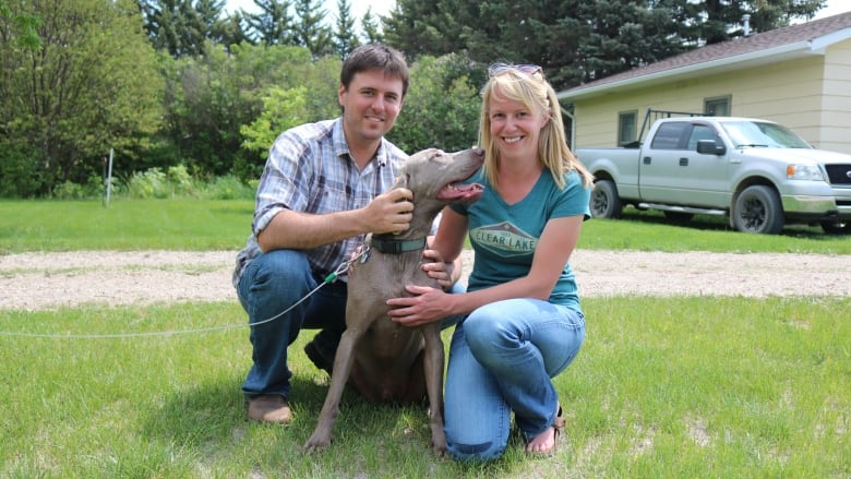 After watching their dog die 'a painful death,' owners want ban on strychnine used by Sask., Alta. farmers