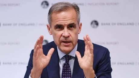 Former Bank of Canada governor Mark Carney says he'll do 'whatever' he can to support the Liberal Party