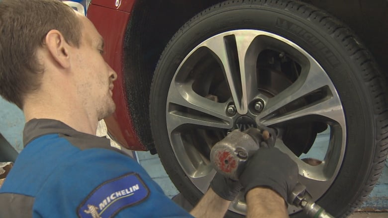 When a simple tire change becomes a debate over personal