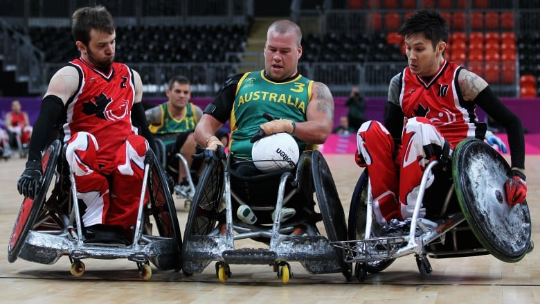 canada takes on the world at wheelchair rugby championships cbc sports