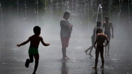 Europe heat wave summer 2018