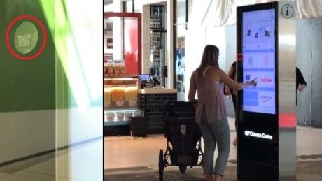 Mall Directory / Camera Composite