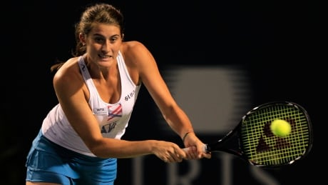 Canada's Rebecca Marino falls in Rogers Cup qualifying