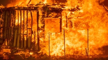 California wildfires claim 7th victim as blazes continue to spread