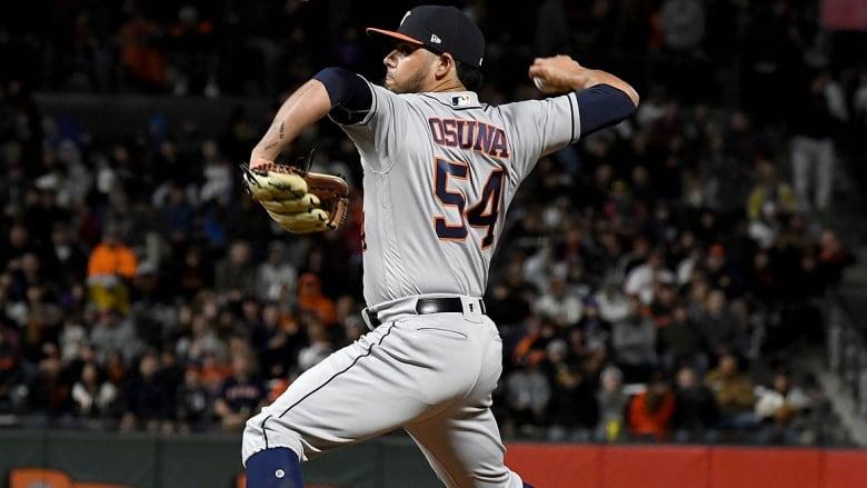 Astros defend Osuna trade, activation
