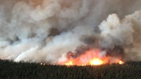 south stikine river wildfire