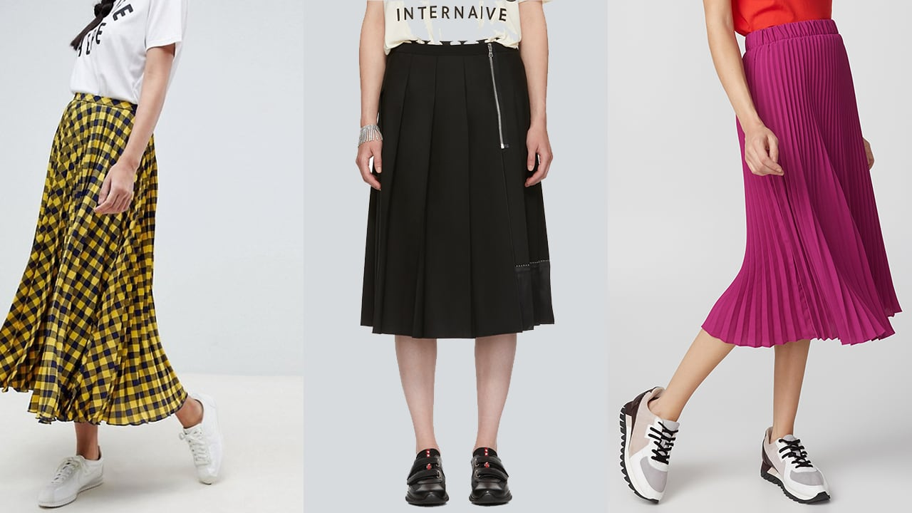 2d89241c8b More pleats, please! Get in on the latest runway trend coming to skirts  near you