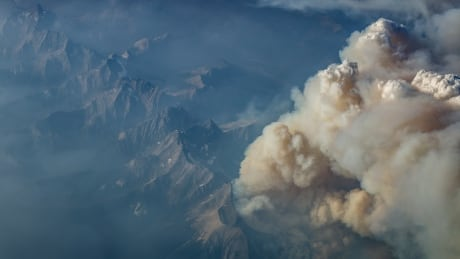 Aerial B.C. wildfires