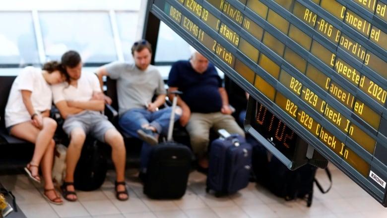 RyanAir pilot strike grounds 400 flights across Europe