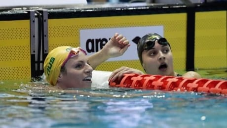 Kylie Masse golden at Pan Pacific Swimming Championships