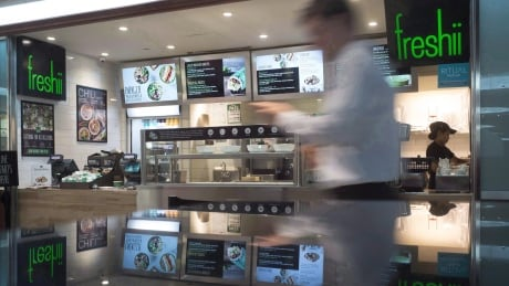 Freshii shares down on earnings miss