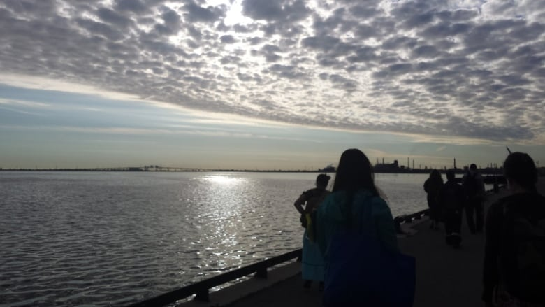 Indigenous Women Lead Walk Around Hamilton Harbour To Pray For Safe
