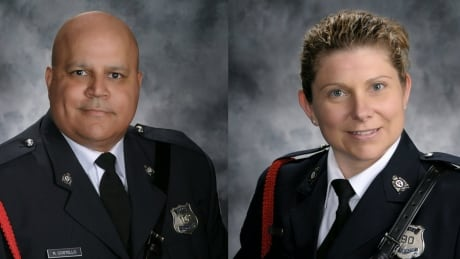 Toronto police set up books of condolences for fallen Fredericton officers | CBC
