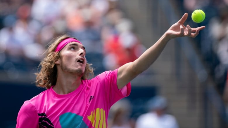 Greek teenager continues remarkable run with victory over Zverev at Rogers Cup