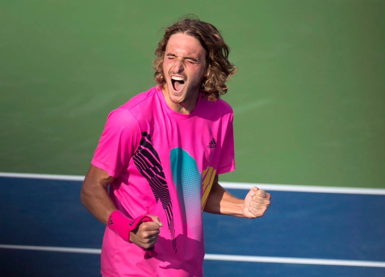 Stefanos Tsitsipas Beats 4th Consecutive Top 10 Player En Route To Rogers Cup Final Cbc Sports