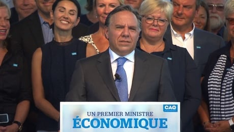 François Legault promises $8.05 daily rate for subsidized daycare | CBC