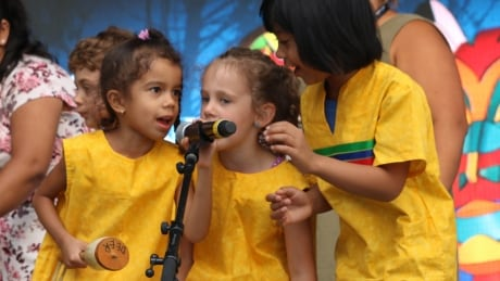 Rising Sun daycare shines a light on learning through songs of the ancestors | CBC