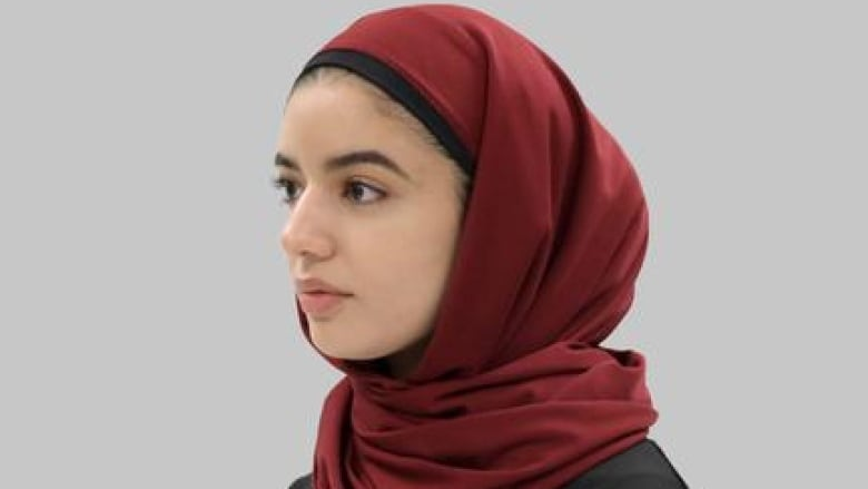 sports hijabs like this one for more than a year. The Ottawa company is  now testing a version of the religious headscarf specially designed for  members