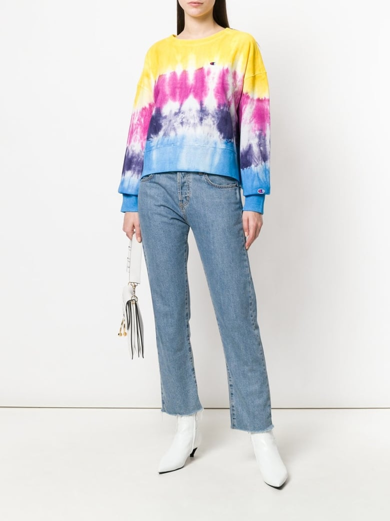 62c5f61d75 When Vetements put Champion on the runway a few seasons back, it instantly  recast the sports apparel brand as a high-fashion label. Add a tie-dye  makeover ...