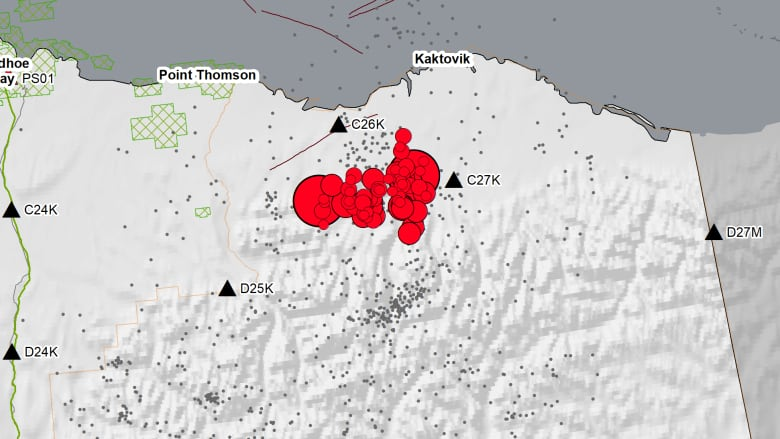 Alaska's North Slope shaken by strongest recorded earthquake in region