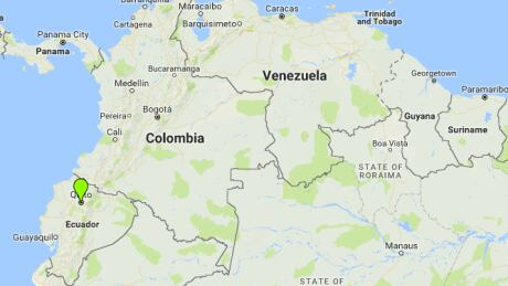 Ecuador crash