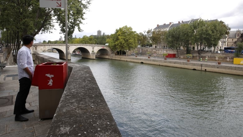 Open-air urinals installed in Paris, France cause public outrage