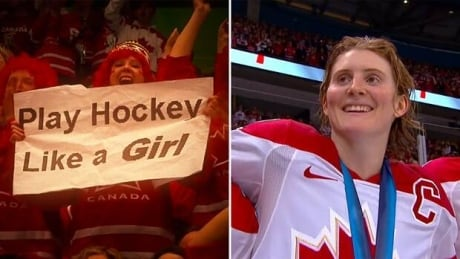 Hayley Wickenheiser wants to help reduce concussions for women in contact sports