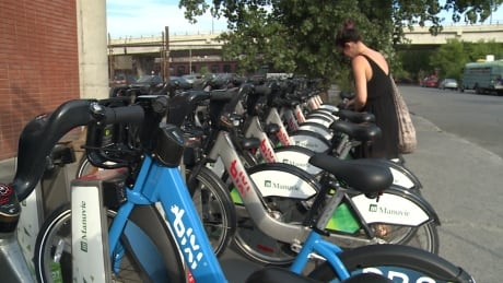 Electric-assisted Bixi bicycles are available in Montreal starting today | CBC