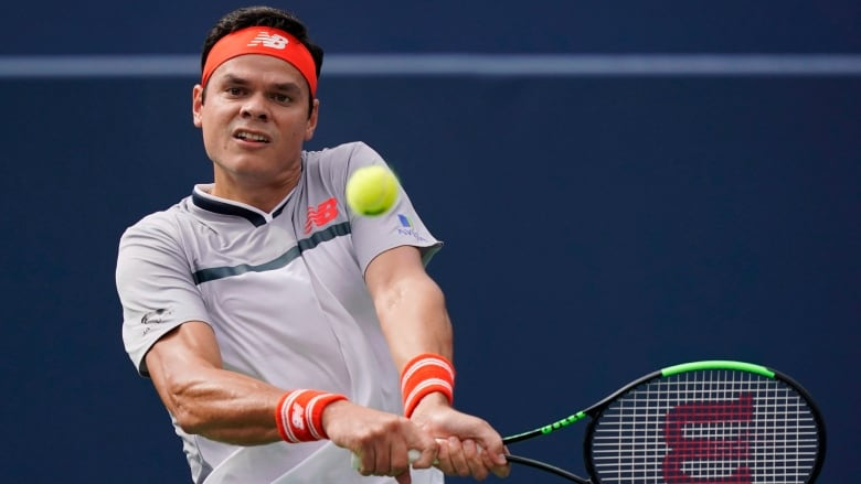 Canadas Milos Raonic Pictured Above At The Rogers Cup In Toronto Will Get A Second Shot At Beating Countryman Denis Shapovalov When The Two Face Off On