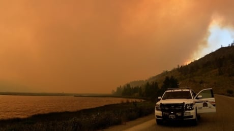 BC RCMP fires