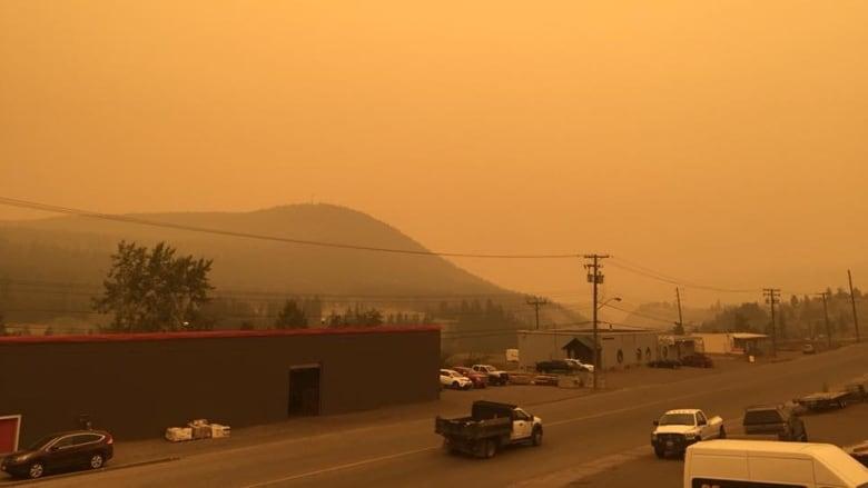 Williams Lake wildfires