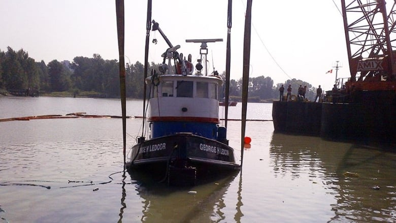 Tug capsizing in Fraser River highlights industry risks: TSB report