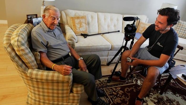 Second World War stories of Red Deer-area veterans to be filmed Eric-brunt